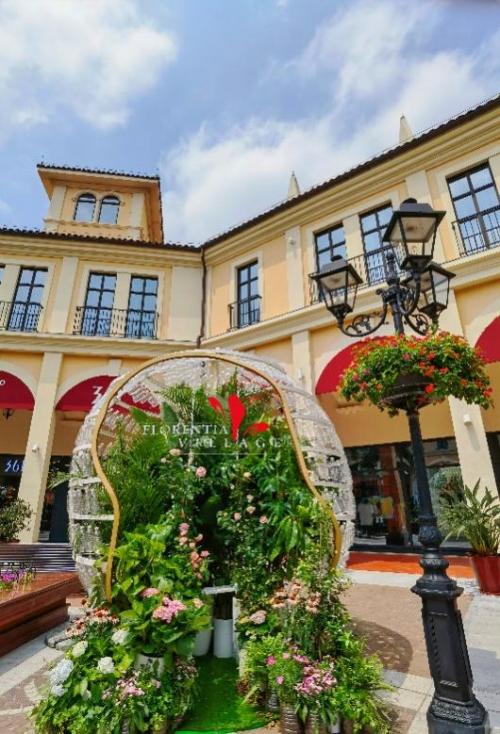 广佛佛罗伦萨小镇五一换新装,助力环保散播绿意