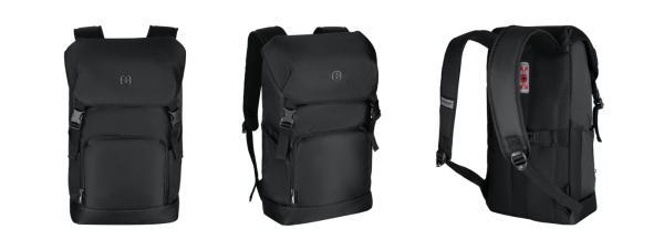 出行新格调,Wenger威戈推出城市行者系列Flapover双肩背包