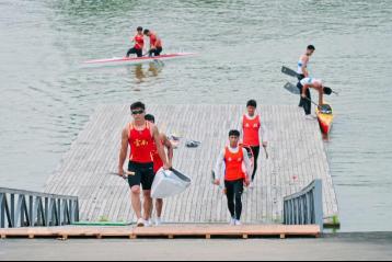 一起开炮 乘风破浪 长城炮助力全运会皮划艇资格赛