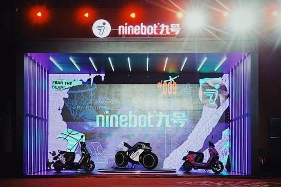 九号电动亮相中国李宁秋冬潮流发布秀场 科技与时尚至美融合