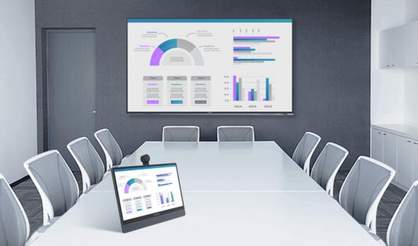 MAXHUB发布桌面视频会议屏:升级个人远程协同办公体验