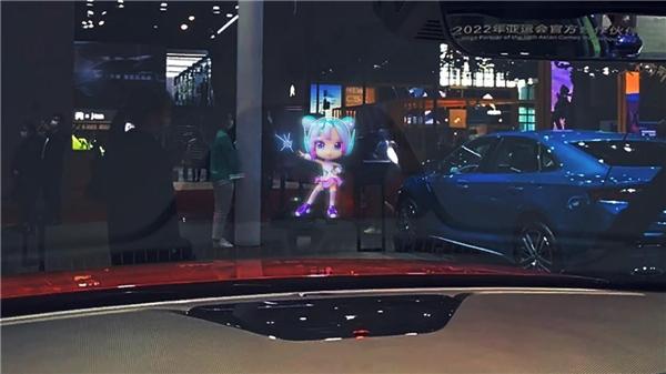 上海国际车展亮点直击,解密吉利汽车首款智能全息座舱