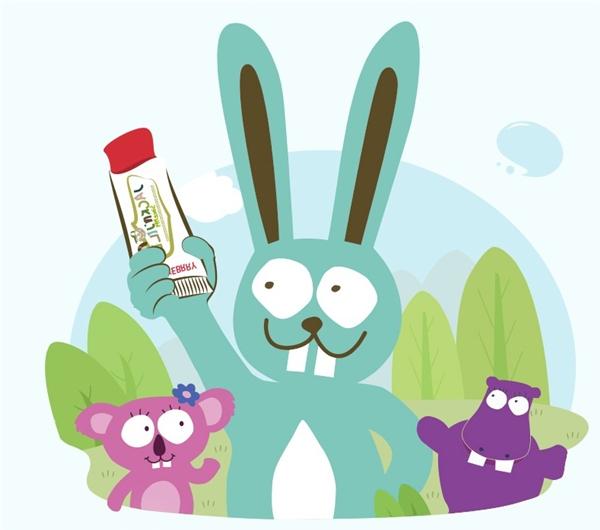 杰克洁儿天然儿童牙膏,让口腔避免这些化学成分
