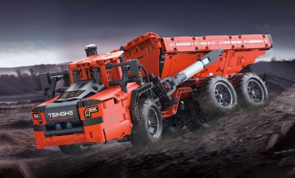 大有可为——亲手打造硬核工程运输机械:ONEBOT铰接式矿山卡车