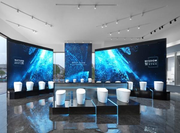 设计+科技,打造品质卫浴—帝王洁具展厅首个媒体参观日