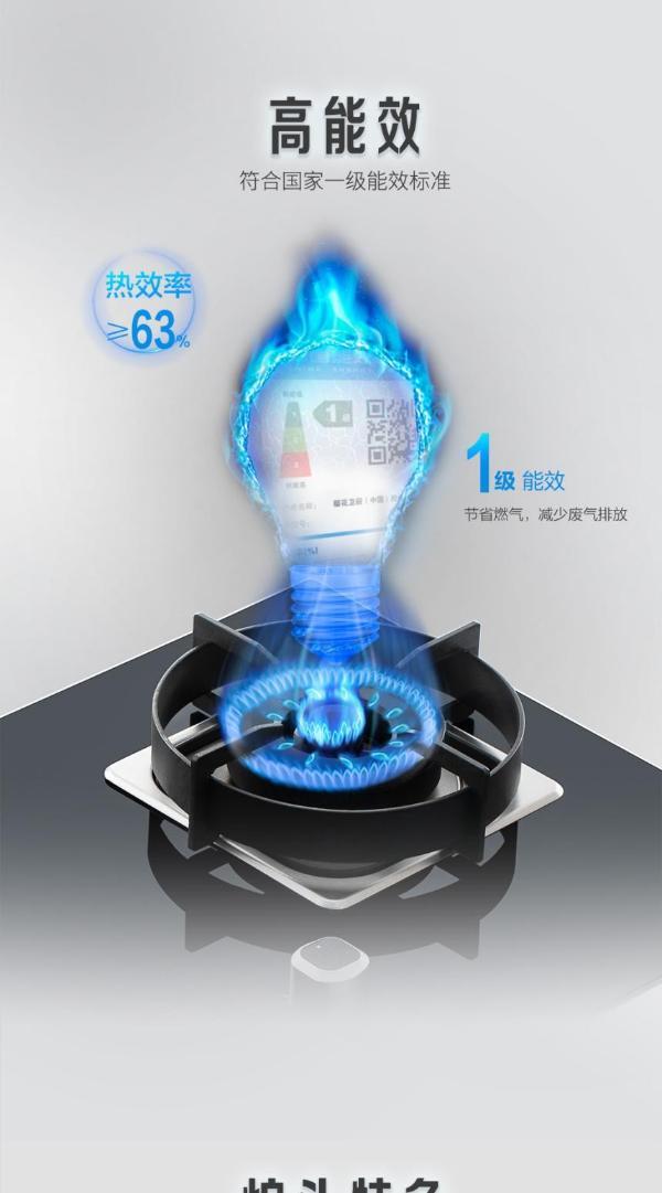 樱花燃气灶质量怎么样?智感科技 创安全厨房环境