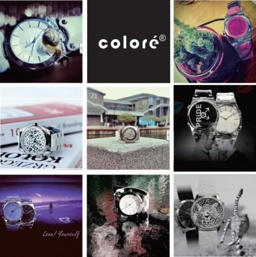 流行手表品牌卡云尼 Coloré Twins:双面手表设计让人耳目一新