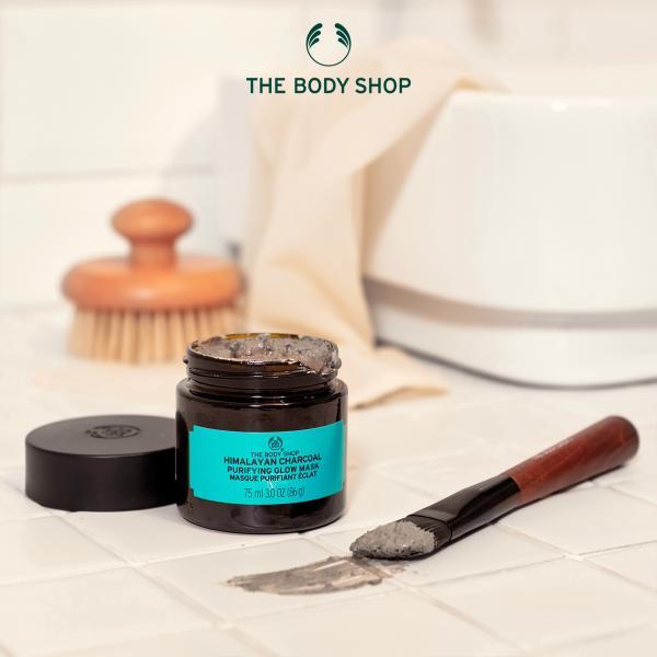 The Body Shop美体小铺竹炭排浊净肌面膜,享受天然净肌力量