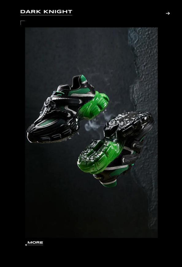 OGR机甲鞋「MECHA」系列,用科技演绎立体美学