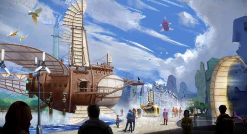 看华侨城迎风起航,奏响扬州实干最强音