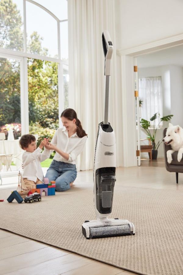 MOVA洗地机颠覆传统清洁 一站式除尘杀菌解放你的双手!
