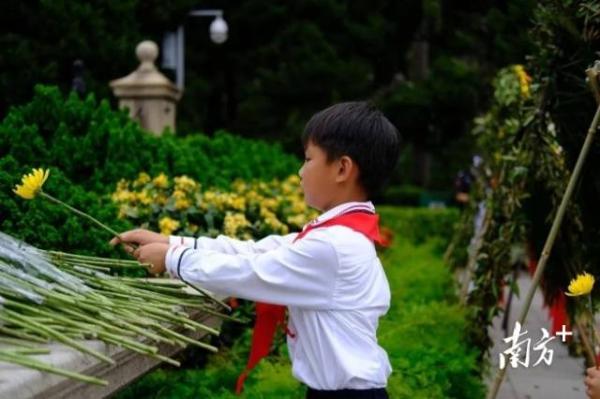 广州中黄管理的中小学两校清明深入开展红色教育主题活动