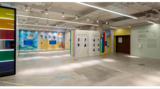 中国艺术家张赢羽携NFT数字艺术亮相迪拜艺术周