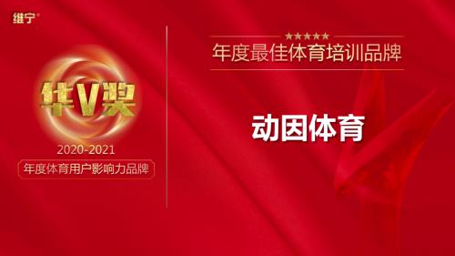 获华V奖2020-2021年度体育用户影响力品牌