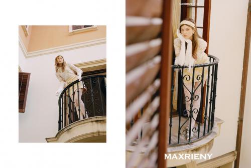 深圳本土女装MAXRIENY服装力推夏季新品,让每个女孩都成为千金