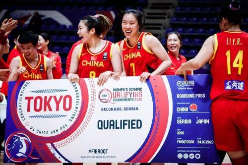 中国女子三大球齐聚东京奥运会,秀域智能健康全程护花中国女篮