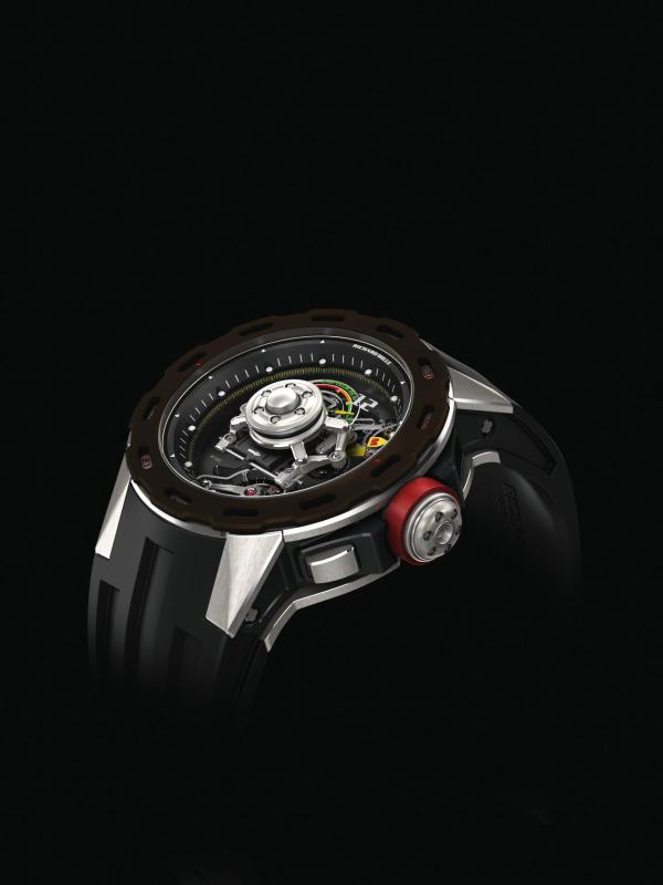 极尽机械之美 RICHARD MILLE里查德米尔RM 36-01陀飞轮腕表