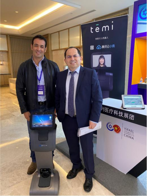 """专访temi机器人CEO Gal Goren:服务型机器人,让未来医疗更""""智慧""""!"""