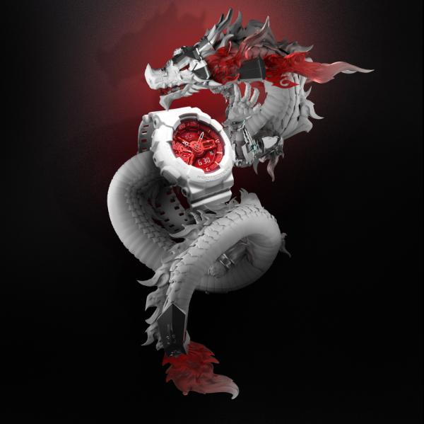THE9-刘雨昕演绎「中华龙」白色表款