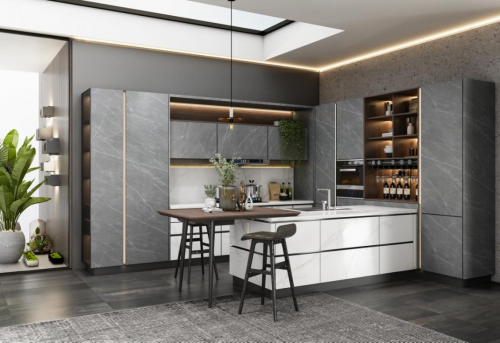 积极推动中国厨房进入4.0时代,厨房定制看欧派橱柜!