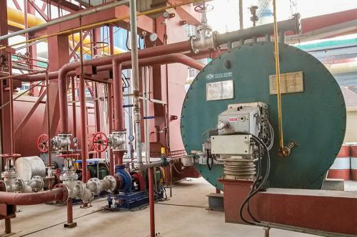 中正燃气锅炉以其优质、安全、高效成为许多新材料行业用户的共同选择