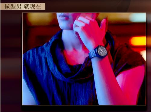 阿玛尼告诉你,戴表的男生为何更有吸引力?