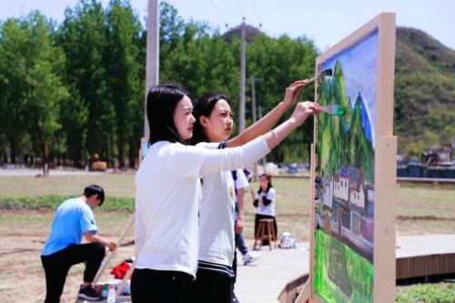 保定市2021年度易水湖项目集中开工仪式在圆歌·易水旅游度假区隆重举行