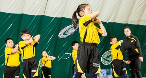 发现网球魅力,动因体育为青少儿运动健康提供专业教育服务