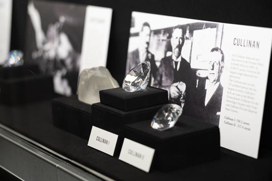 和戴比尔斯钻石研究机构一起,对钻石鉴证充满信心