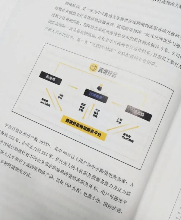 跨境好运入选《2021中国跨境电商物流行业蓝皮书》案例