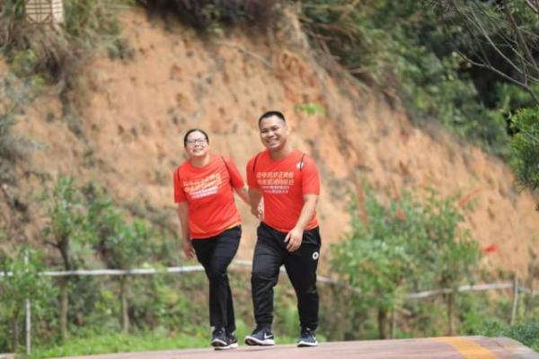 喜迎建党一百周年,悦走金湾25公里徒步活动顺利举行
