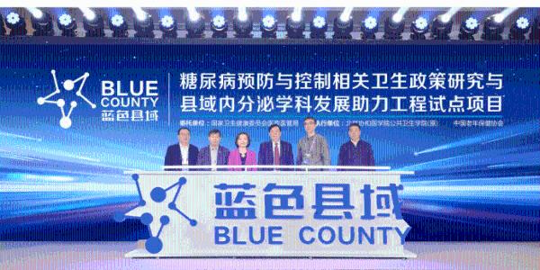 """""""蓝色县域""""2021年规划发布,助力提升县级医院糖尿病服务能力和诊疗水平"""