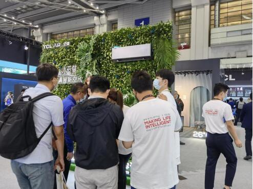 CITE 2021展会重头戏,TCL空调智慧新风科技推动行业革新
