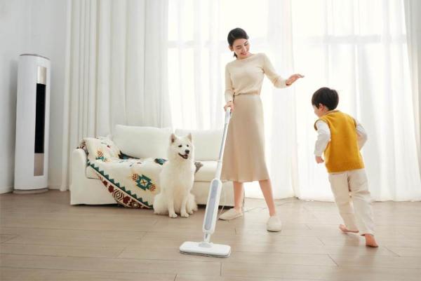 解决家庭卫生难题!MOVA多功能蒸汽拖把闪耀亮相