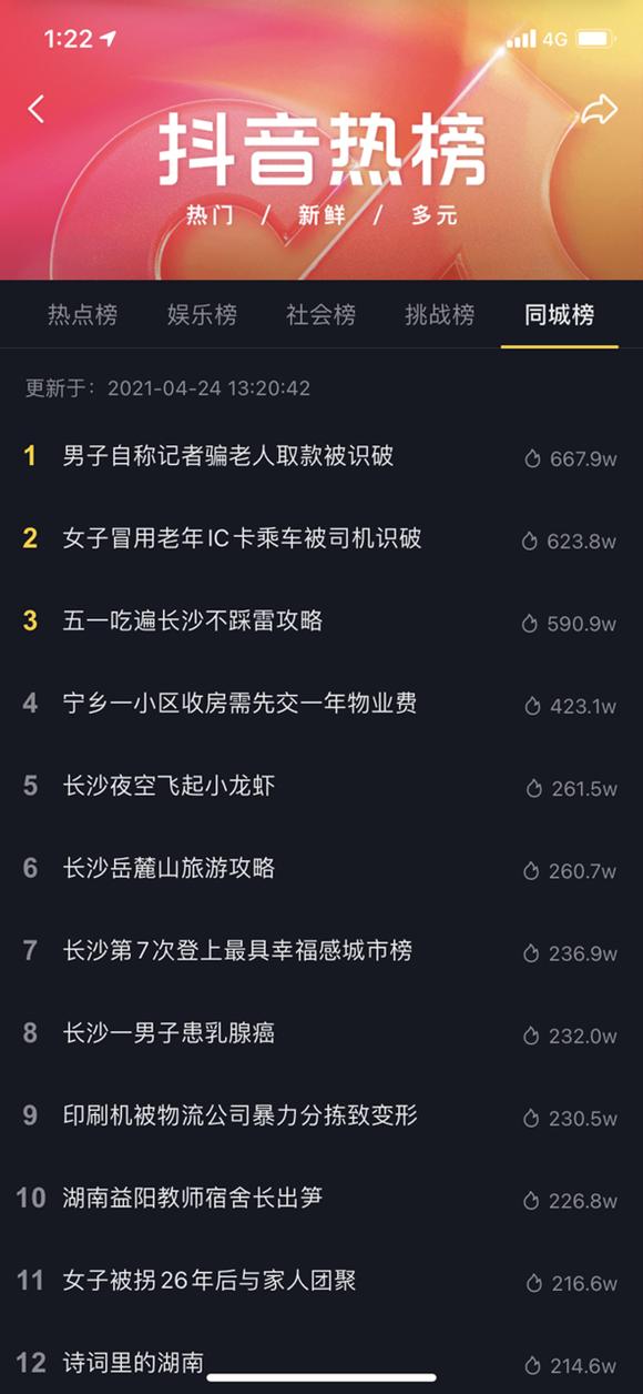 2021抖inCity首站告捷,湖南通航为美好长沙造势