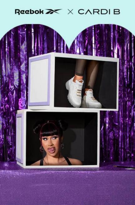Reebok X Cardi B联名炸场回归! 首次释出服装系列搭配全新鞋款配色