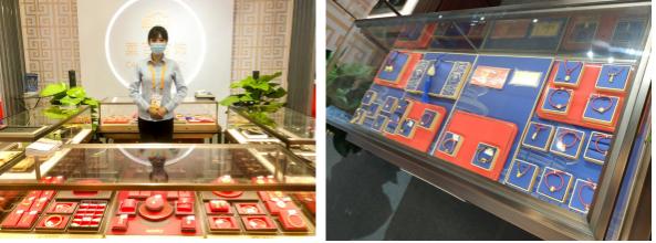 引领中国珠宝消费升级 首届消博会菜百首饰精彩亮相