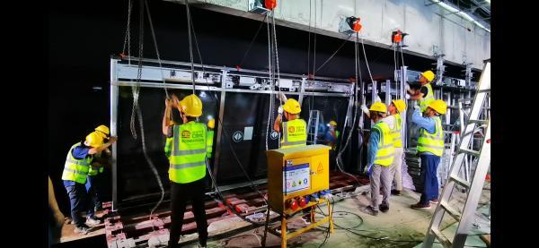 佳都科技 模块化装配式站台门在广州地铁18号线首次成功应用