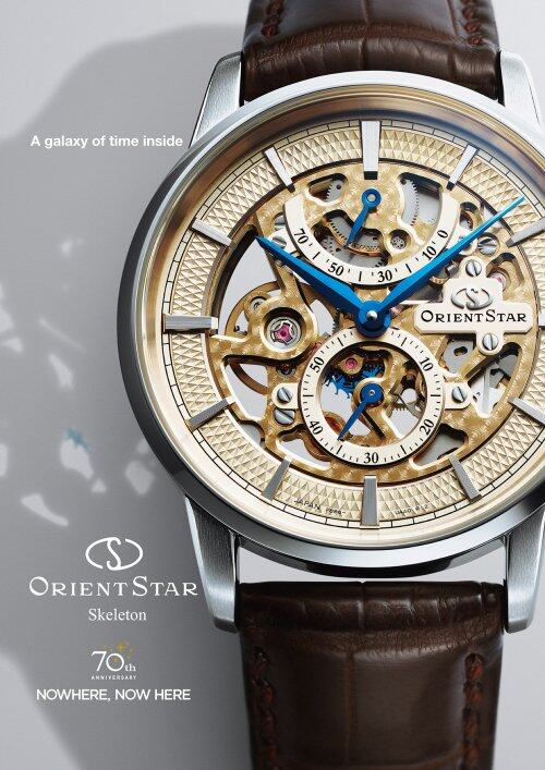 ORIENT STAR东方星新款全镂空机械腕表 品牌成立70周年巨献