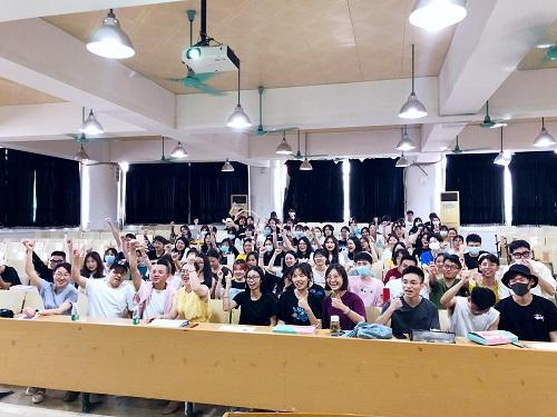 蝶讯走进高校 :广东白云学院