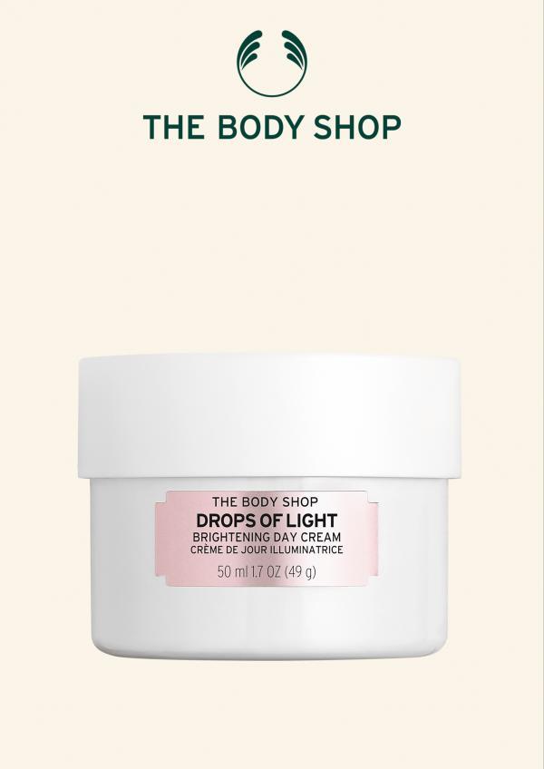 The Body Shop美体小铺焕白亮肌系列,轻松养成素颜美肌
