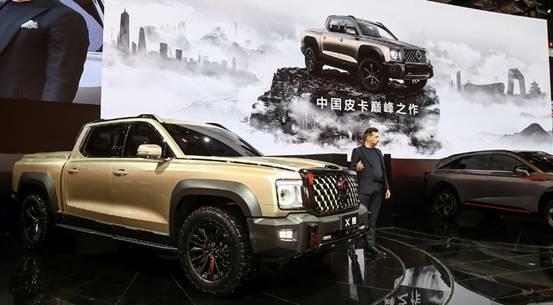 中国皮卡 逐鹿全球 长城皮卡上海车展彰显全球化硬实力
