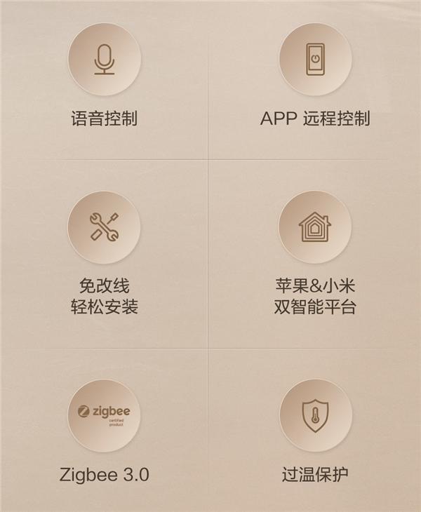 灯具秒变智能!Aqara 智能墙壁开关E 1发布:支持米家、HomeKit
