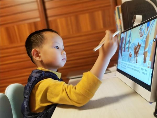 发现在线教育难题,希沃造学习机