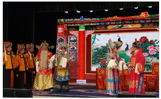 世界文化遗产五台山首开非遗戏剧展示大舞台