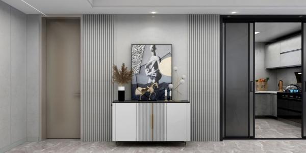 TATA木门质量|背景墙和室内门竟可以这样搭配!