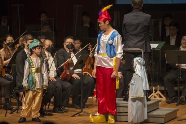 廖明飞大型交响童话献礼五一,现场分享爱与乐