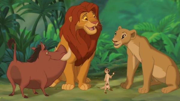 辛巴狮子王 这些意境你读懂了吗?