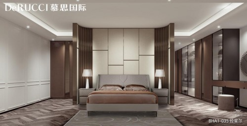 透过设计的视角,慕思国际打造当代美好且生动的卧室空间