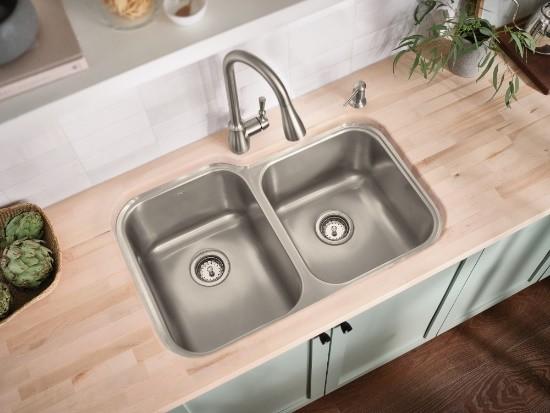 摩恩 MOEN 兼顾品味与品质 摩恩水槽为您提升厨房格调